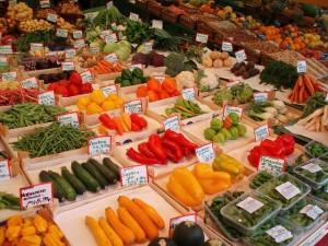 Obst und Gemuese enthalten viele Ballaststoffe