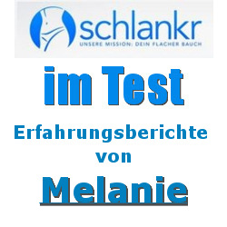 Erfahrungsberichte von Melanie mit schlankr.de