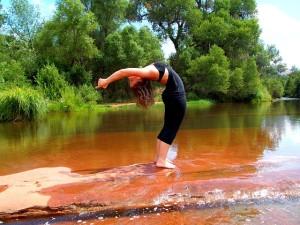 Abnehmen mit Sport und Yoga