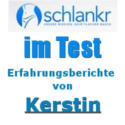 Kerstin berichtet über ihre Erfahrungen mit schlankr.de