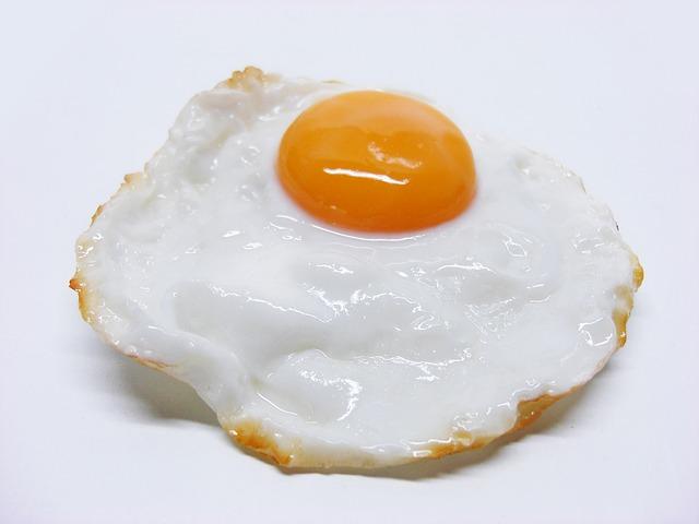 Mit Eiern kann man abnehmen