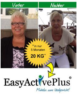 20 Kilo abgenommen mit EasyActivePlus